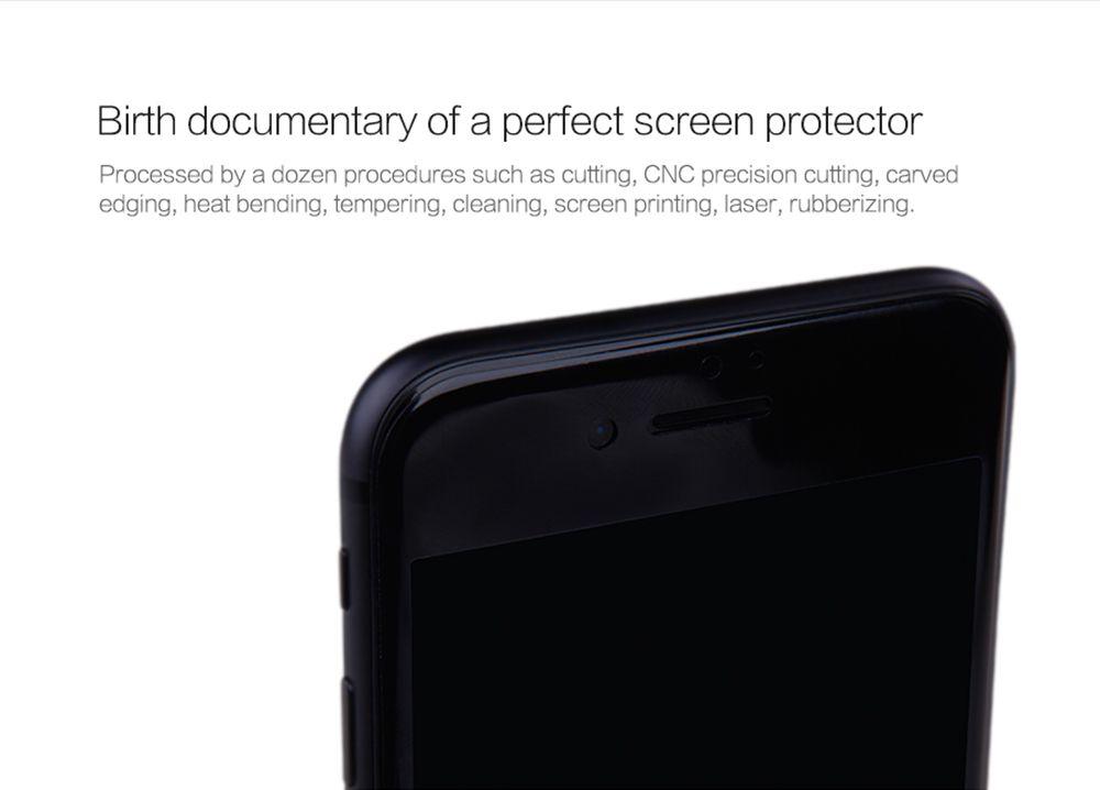 iPhone 7 защитное стекло белый