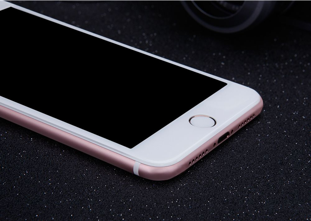 iPhone 7 Tempered glass white