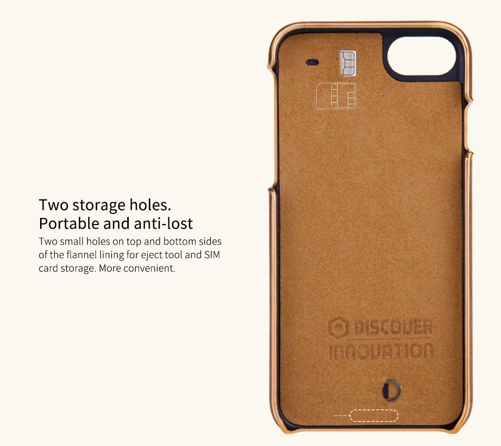 iPhone 7 dėklas rudas