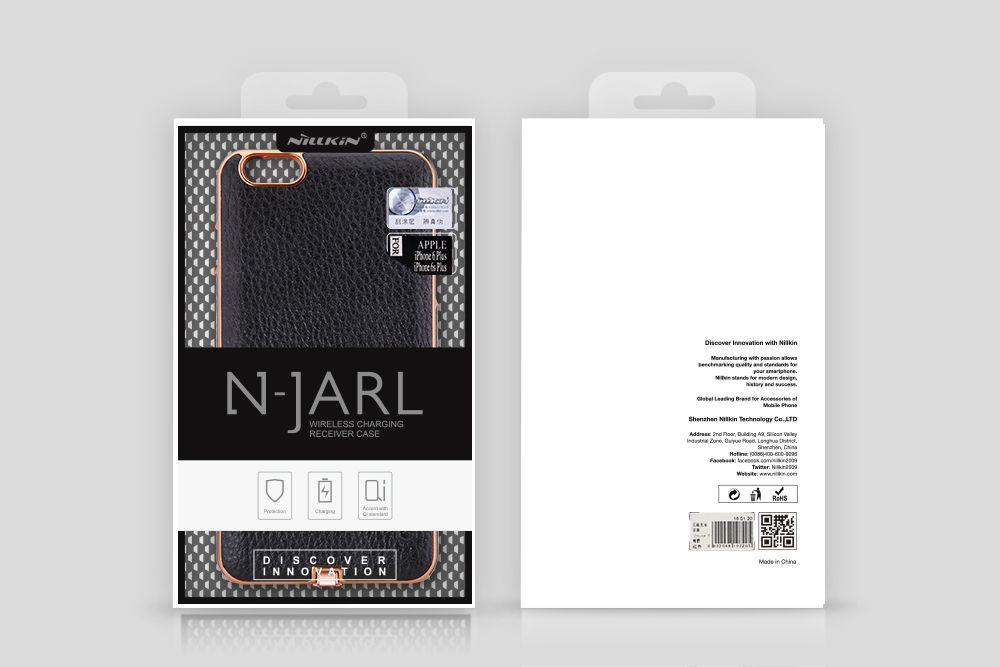 Apple iPhone 6 Plus dėklas Juoda Nillkin N-JARL Wireless Charging Receiver