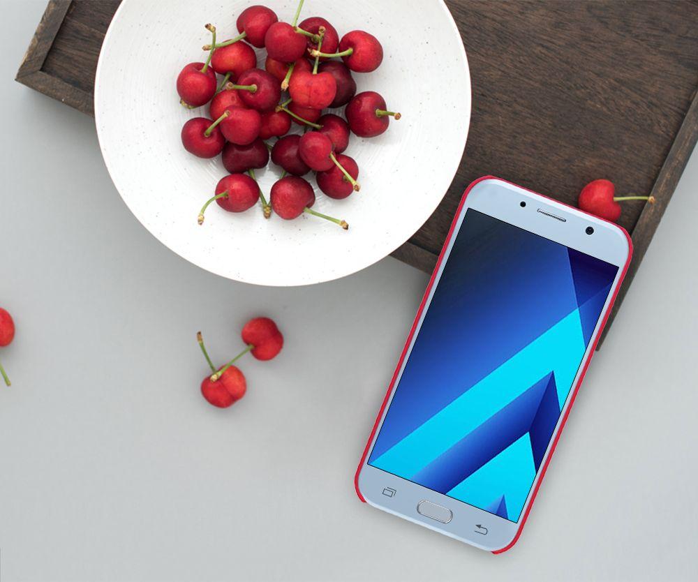 Galaxy A3 (2017) dėklas baltas