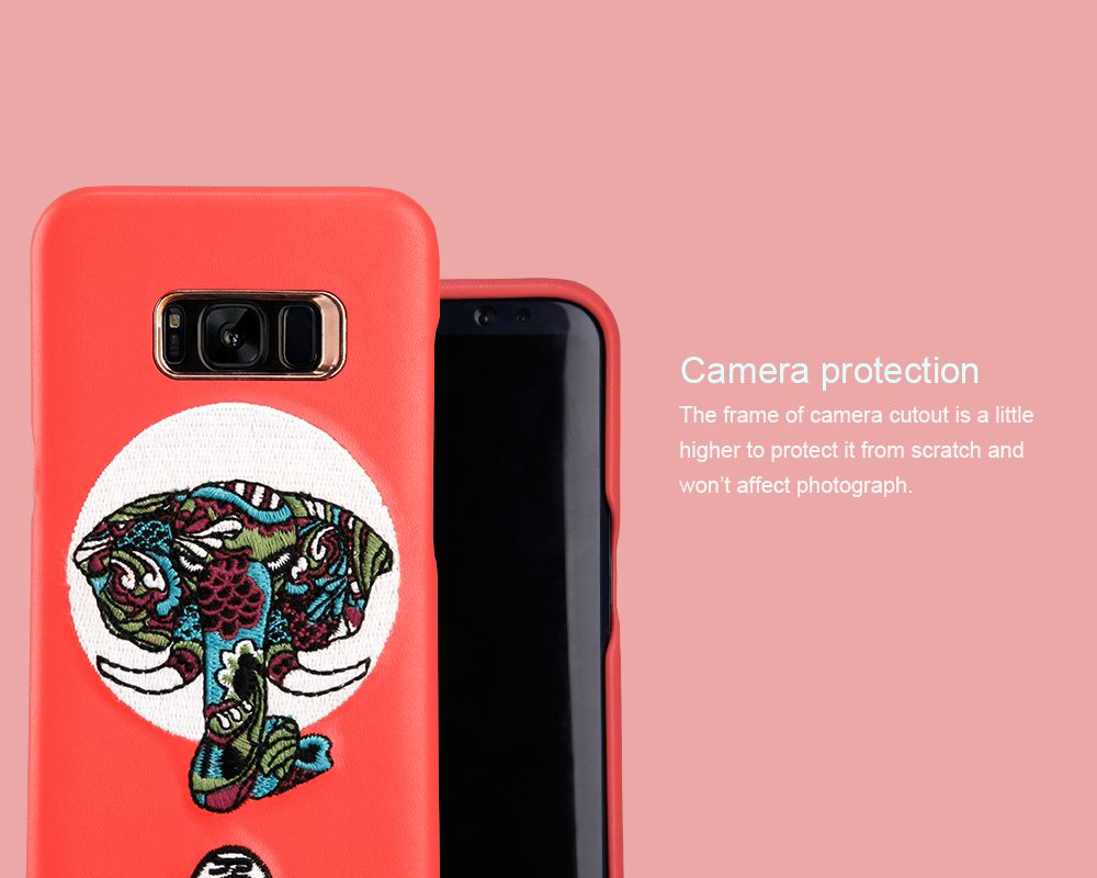 Samsung Galaxy S8 vāciņš sarkans