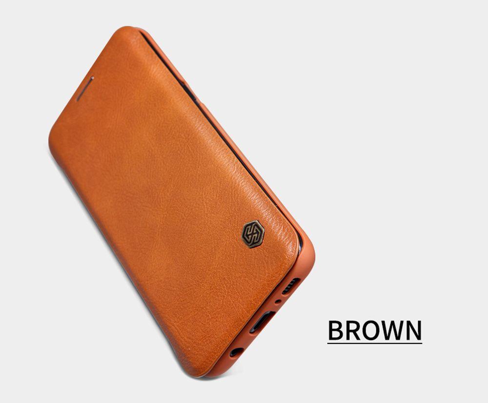 Galaxy S8 Plus case brown