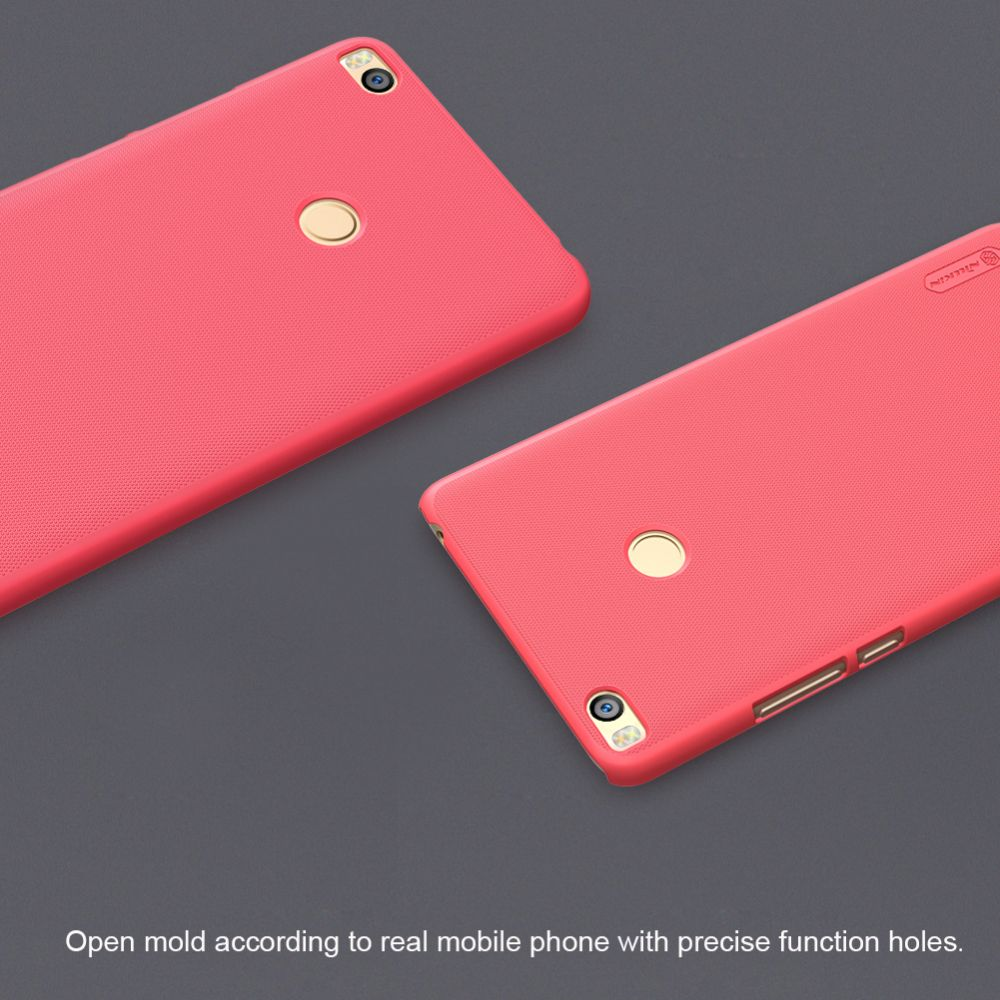 Xiaomi Mi Max 2 vāciņš sarkans Super Frosted Shield