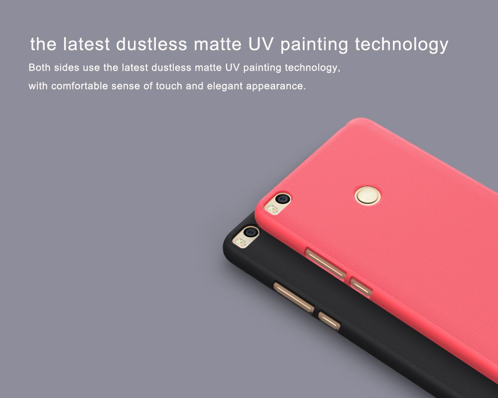 Xiaomi Mi Max 2 vāciņš zeltīts Super Frosted Shield