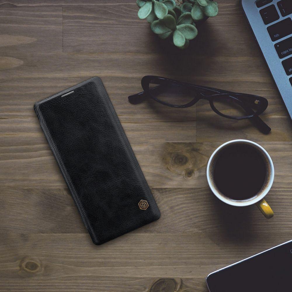 Samsung Galaxy Note 8 telefona maciņš Qin Leather brūns