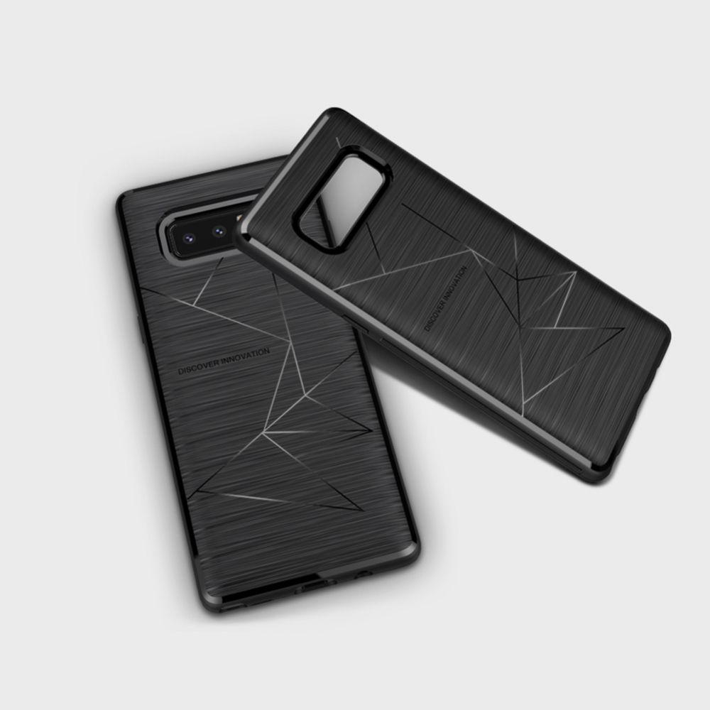 Samsung Galaxy Note 8 telefona vāciņš Magic melns