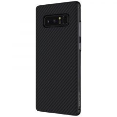 Samsung Galaxy Note 8 telefona vāciņš Synthetic Fiber melns