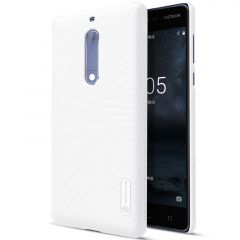 Nokia 5 case white Super Frosted Shield