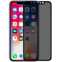 iPhone iPhone X Tempered glass black AP+MAX