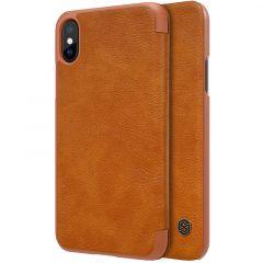 iPhone iPhone X maciņš Nillkin Qin Leather  iPhone X