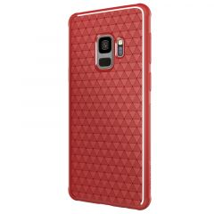Galaxy S9 vāciņš Weave  Samsung Galaxy S9 sarkans