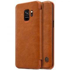Galaxy S9 maciņš Qin Leather  Galaxy S9