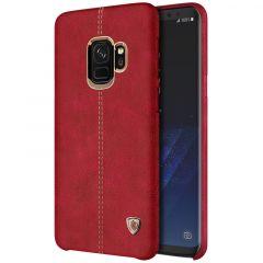 Samsung Galaxy S9 vāciņš Englon Leather  Samsung Galaxy S9 sarkans
