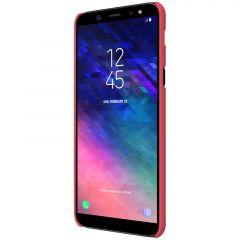 Samsung Galaxy A6 Plus (2018) vāciņš sarkans Nillkin Super Frosted Shield