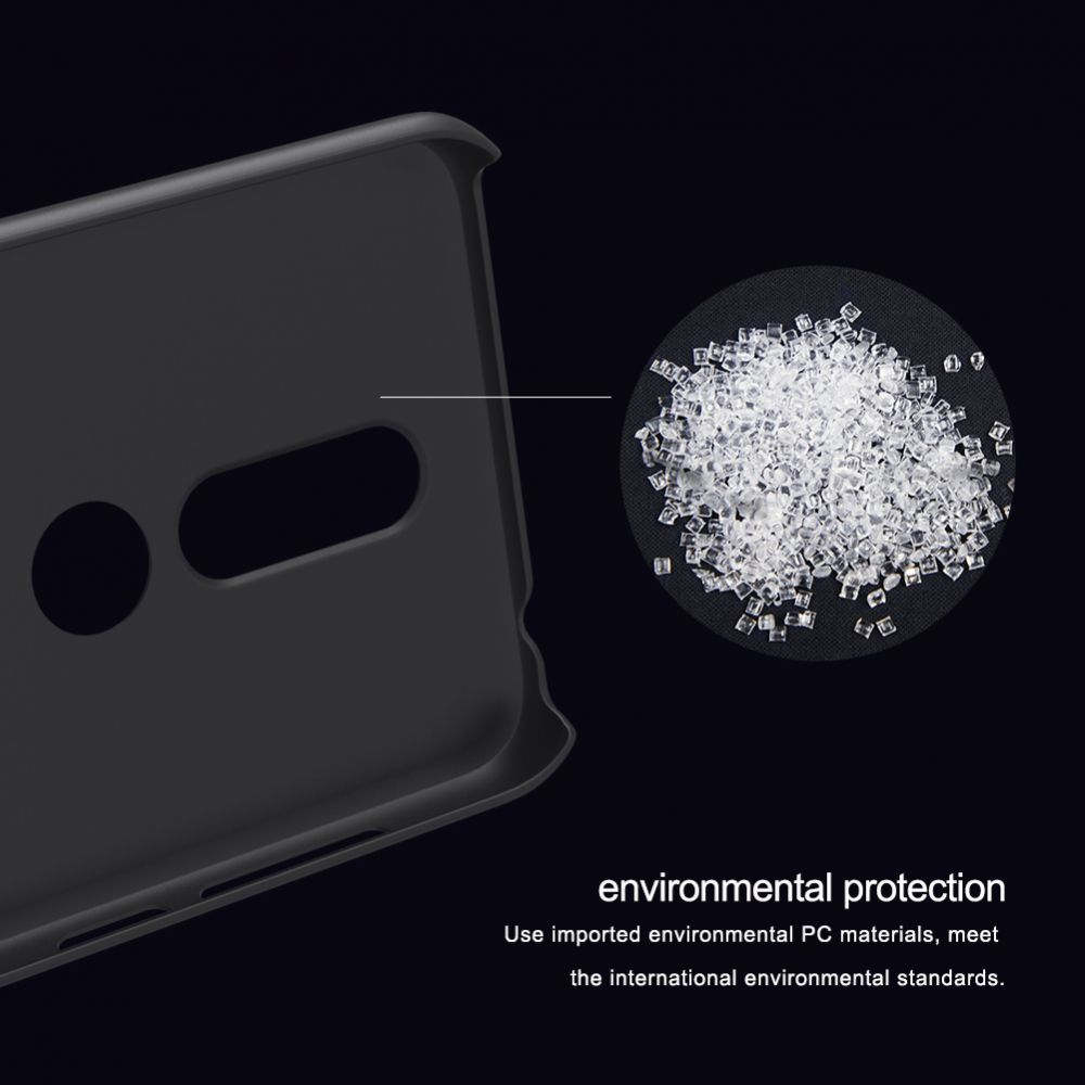 Nokia 6.1 Plus vāciņš balts Super Frosted Shield  X6
