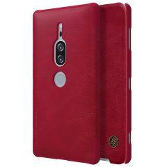 Sony Xperia XZ2 Premium telefona maciņš Qin Leather  SONY Xperia XZ2 Premium