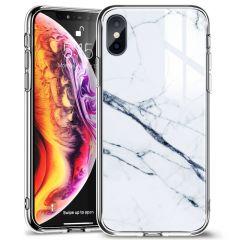 Apple iPhone XS telefoni ümbris ESR Mimic Marble  iPhone X/XS