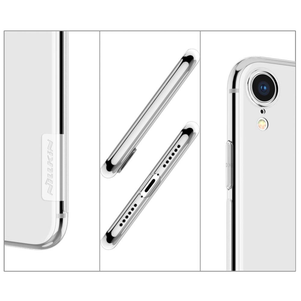 Apple iPhone XR telefona vāciņš TPU caurspīdīgs