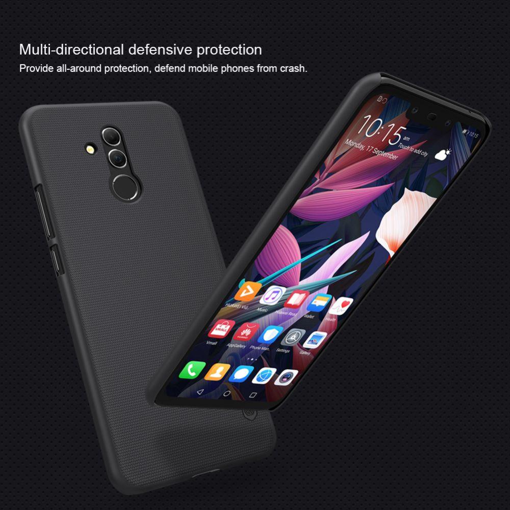Huawei Mate 20 Lite telefona vāciņš Super Frosted Shield melns