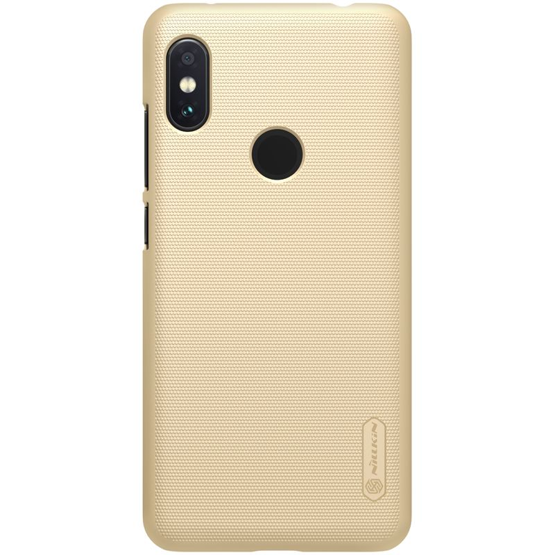 Xiaomi RedMi Note 6 Pro case Super Frosted Shield golden