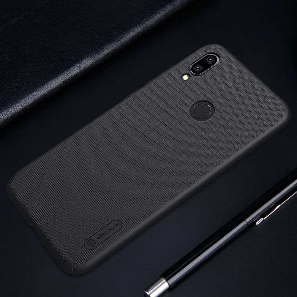 Xiaomi RedMi Note 7 telefoni ümbris Super Frosted Shield kuldne