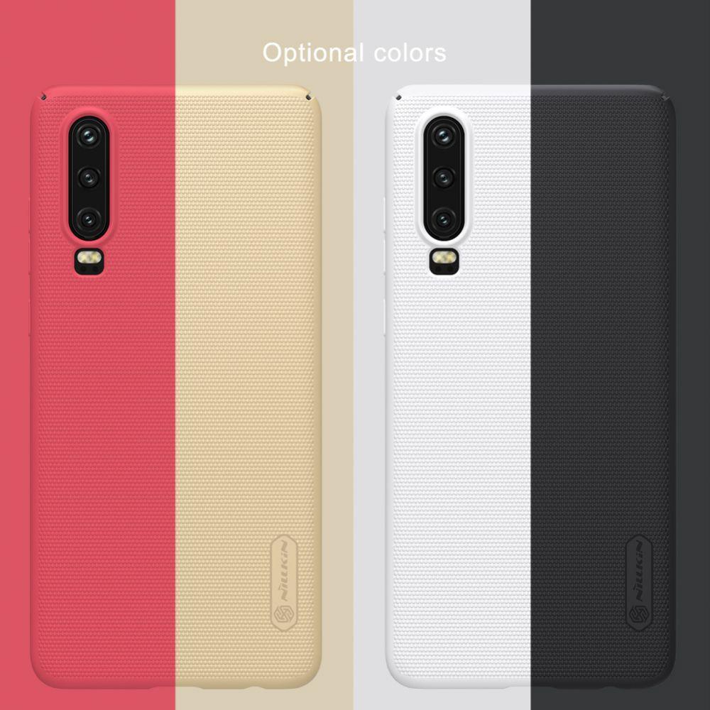 Huawei P30 telefoni ümbris Super Frosted Shield punane