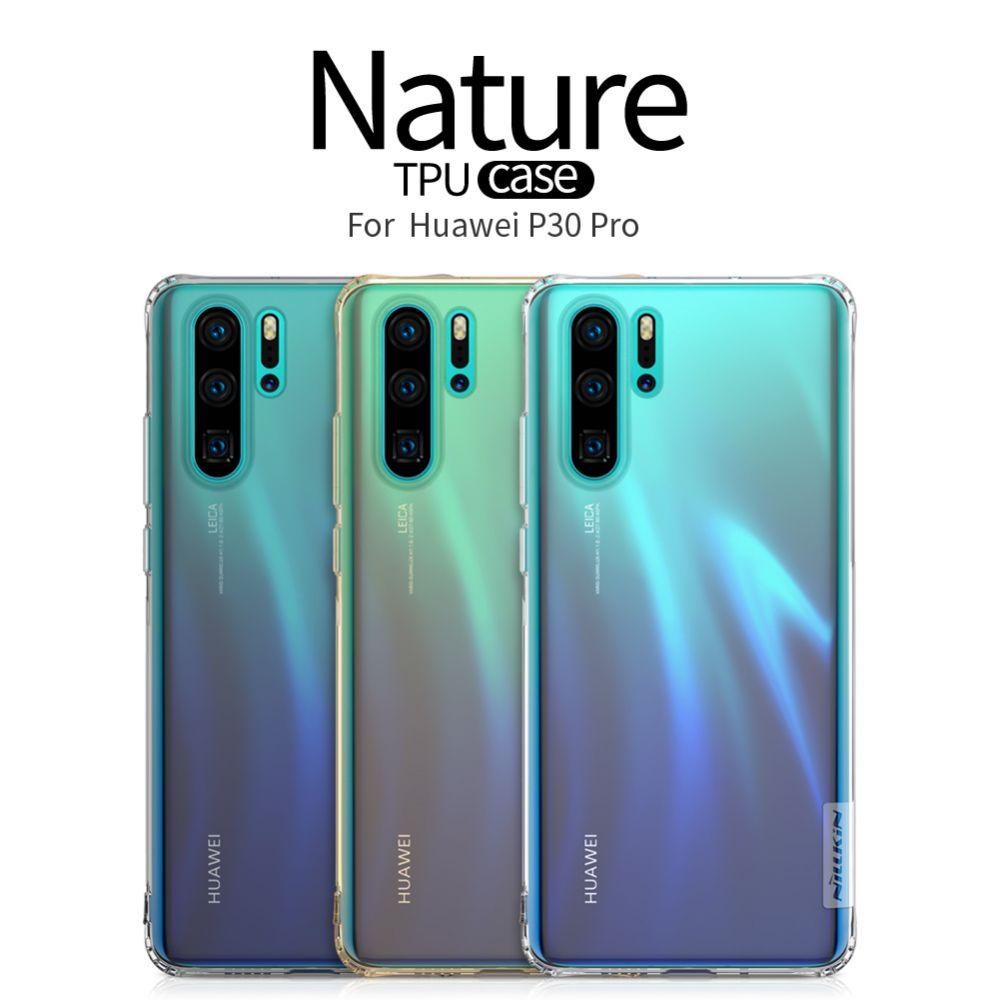 Huawei P30 Pro telefona vāciņš TPU caurspīdīgs