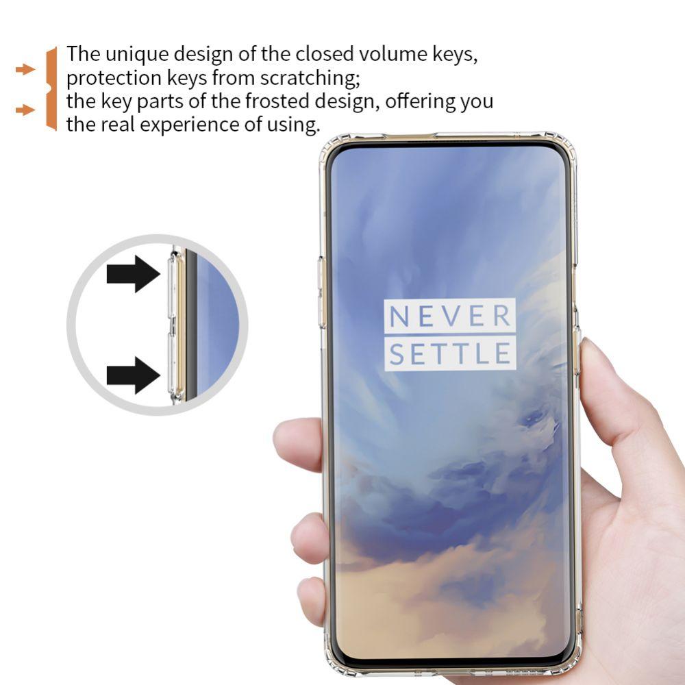 OnePlus 7 Pro telefoni ümbris TPU läbipaistev