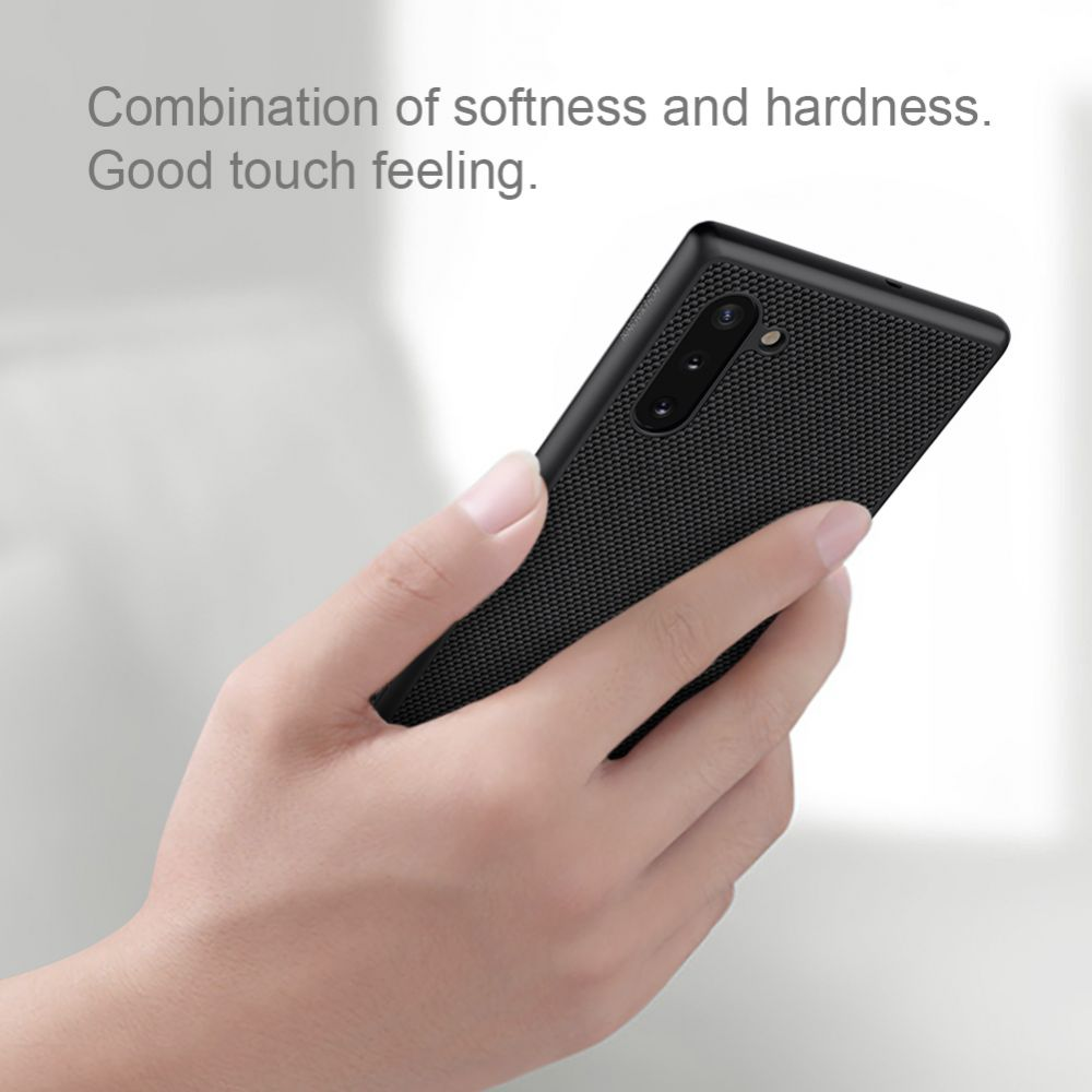 Samsung Galaxy Note 10 telefona vāciņš melns