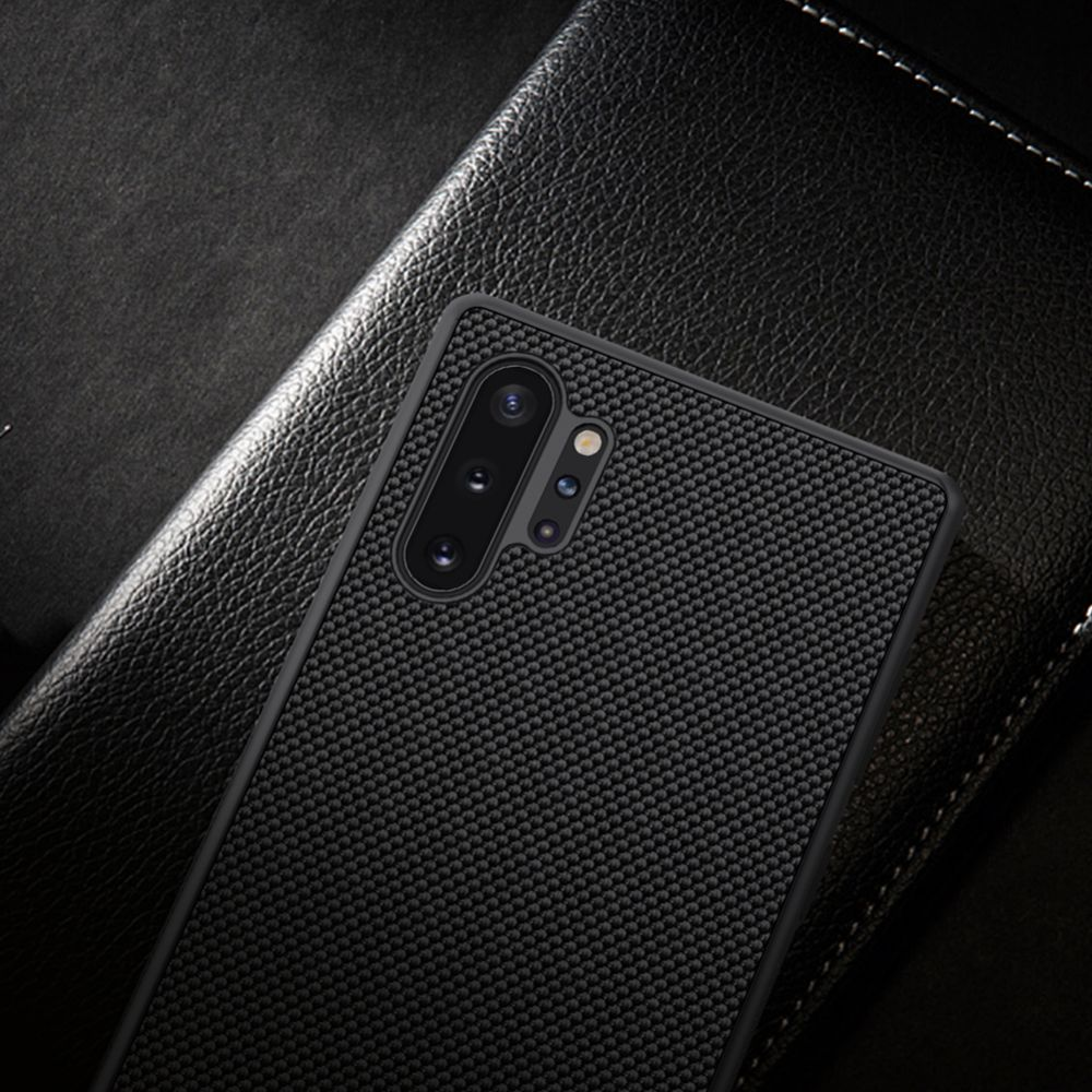 Samsung Galaxy Note 10 Plus telefona vāciņš Textured melns