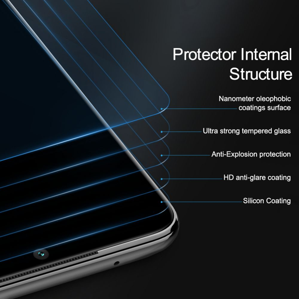 Xiaomi RedMi Note 8 Pro kaitseklaas läbipaistev