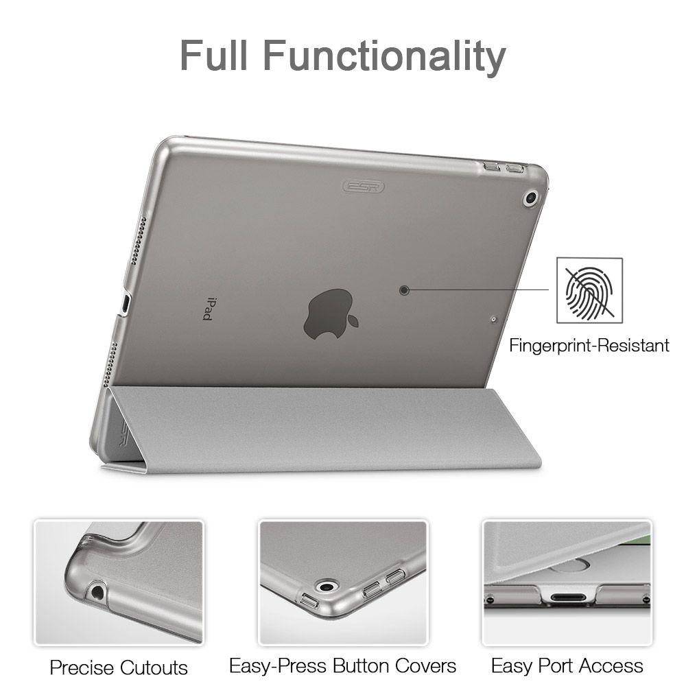 Apple iPad Air 10.5 (2019) maciņš sudraba