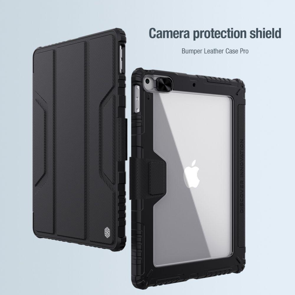 Apple iPad 10.2 (2019) maciņš pelēks Nillkin Bumper Leather  Pro