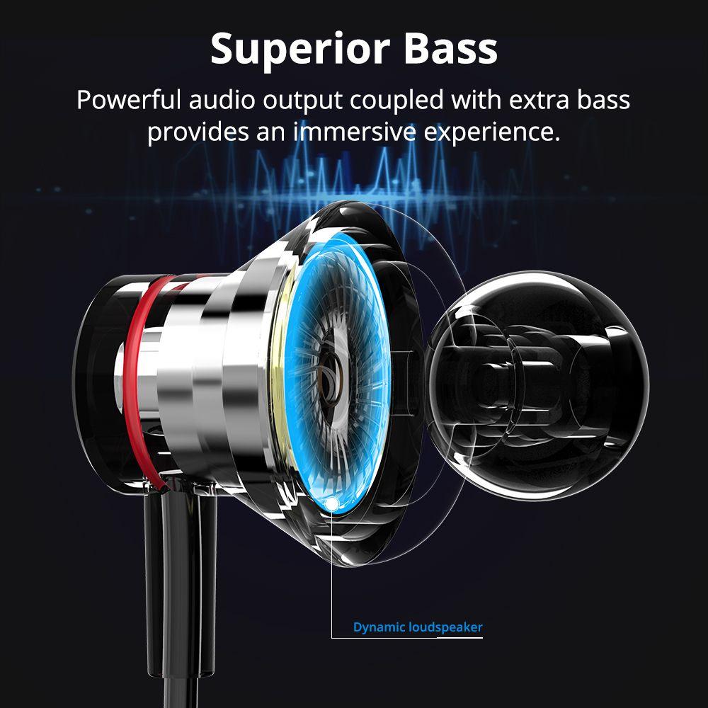 Austiņas Bluetooth Tronsmart ENCORE S2 PLUS Black Sport austiņas melns