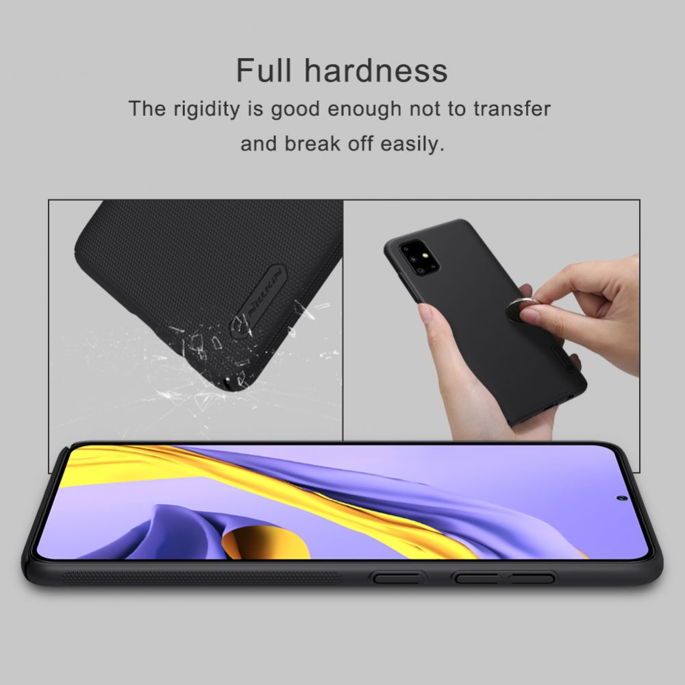 Samsung Galaxy A51 vāciņš zils Nillkin Super Frosted Shield