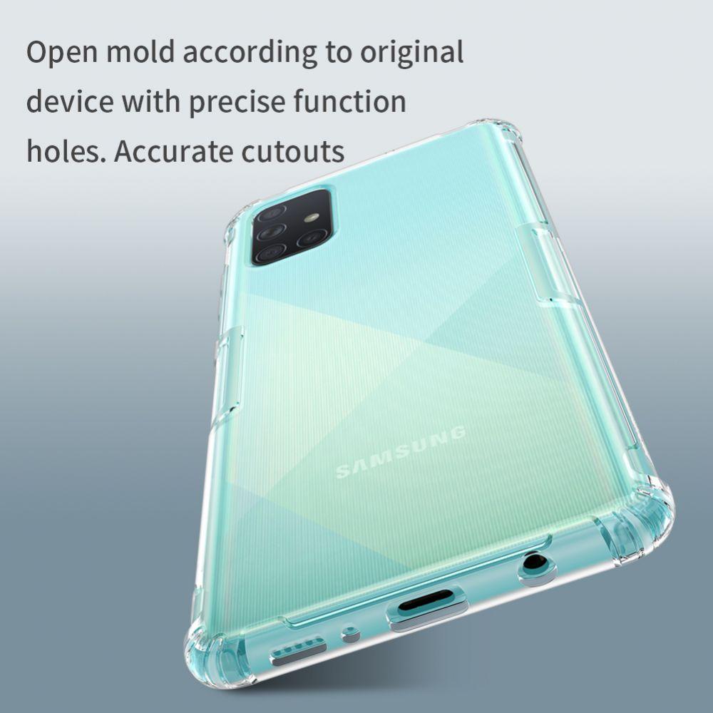Samsung Galaxy A71 vāciņš caurspīdīgs Nillkin TPU