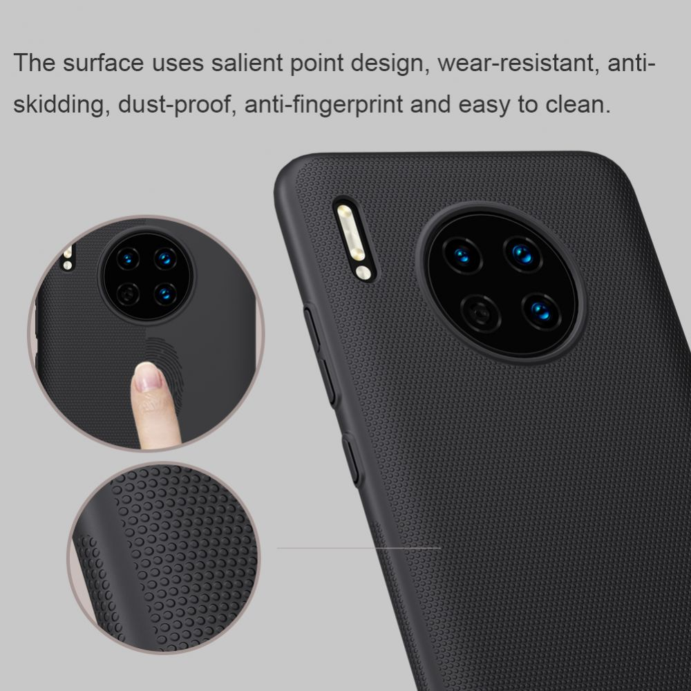 Huawei Mate 30 Nillkin Super Frosted Shield  melns
