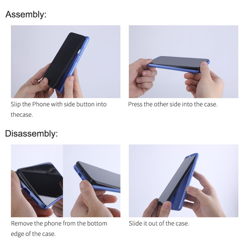 Huawei Mate 30 Pro vāciņš zils