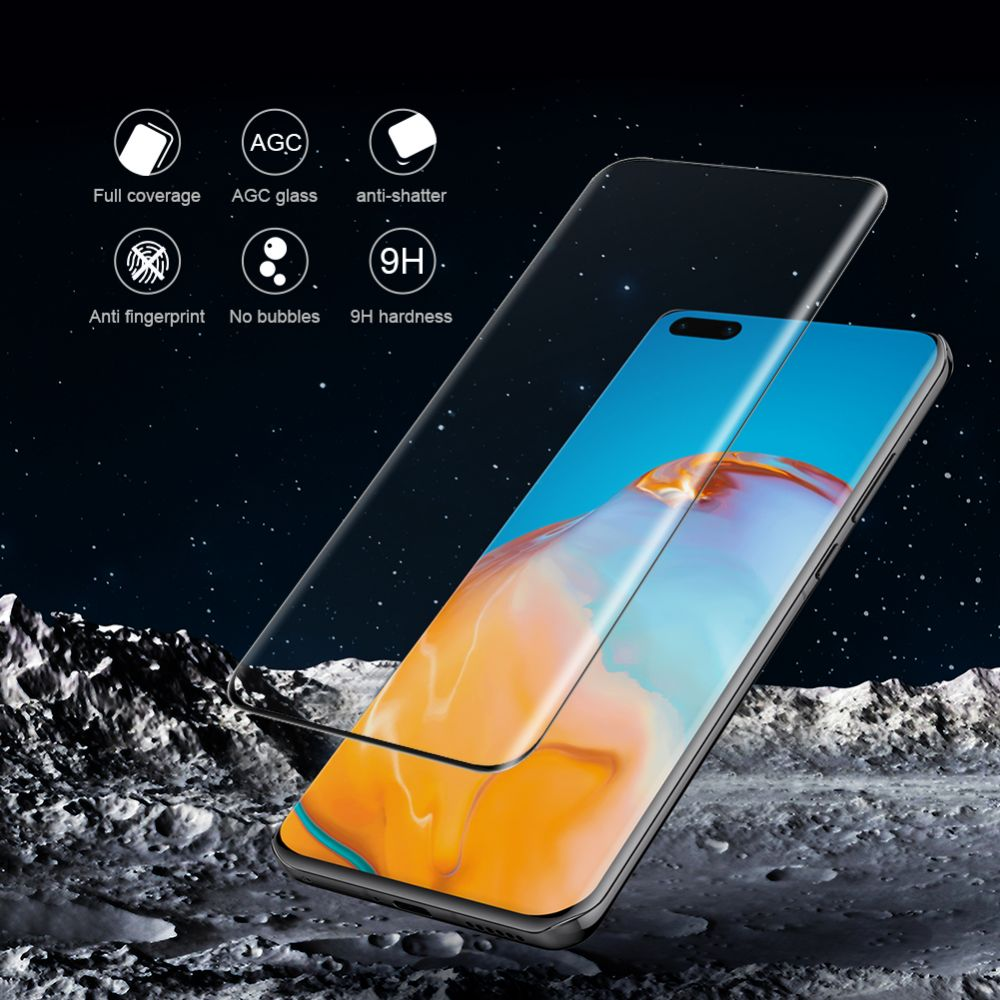 Huawei P40 Pro Tempered glass transparent