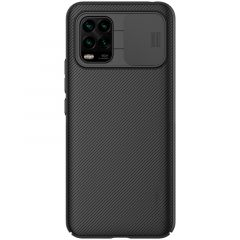 Xiaomi Mi 10 Lite 5G vāciņš melns CamShield
