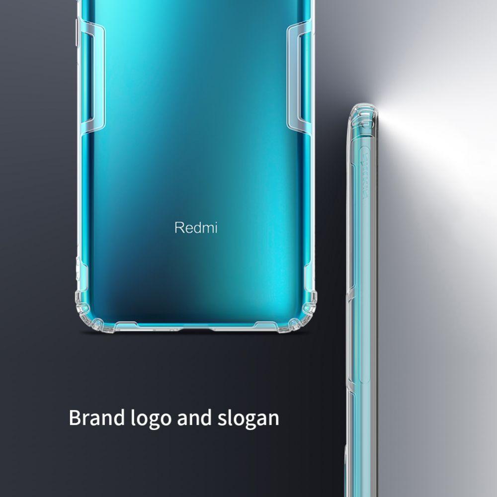 Xiaomi Poco F2 Pro vāciņš caurspīdīgs pelēks