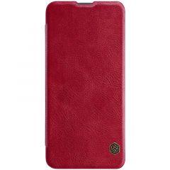 Xiaomi Poco F2 Pro maciņš sarkans Qin Leather