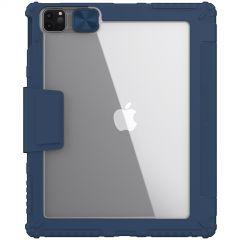 Apple iPad Pro 12.9 (2020) maciņš zils Nillkin Bumper Leather