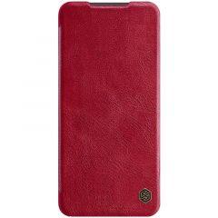 Xiaomi RedMi Note 9 Pro maciņš sarkans Qin Leather