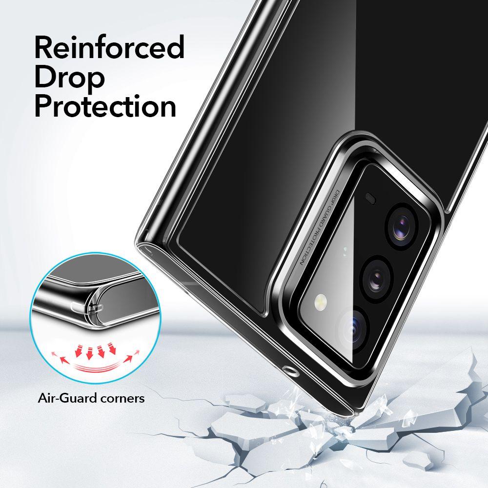 Samsung Galaxy Note 20 Ultra vāciņš caurspīdīgs ESR Ice Shield