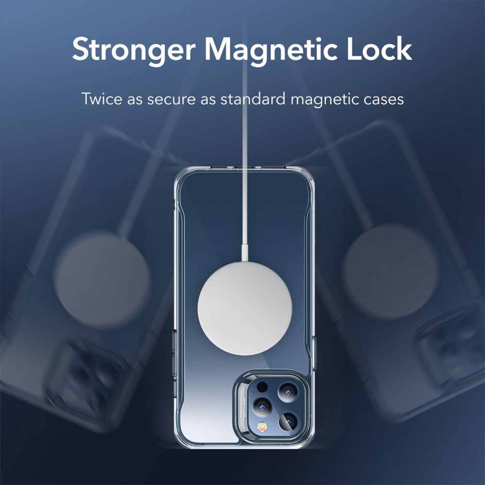 Apple iPhone 12 Pro vāciņš caurspīdīgs ESR Sidekick Classic Hybrid  w HaloLock