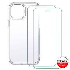 iPhone iPhone 12 Pro vāciņš ESR Classic Hybrid  + Screen Shield (2pack) iPhone 12 Pro