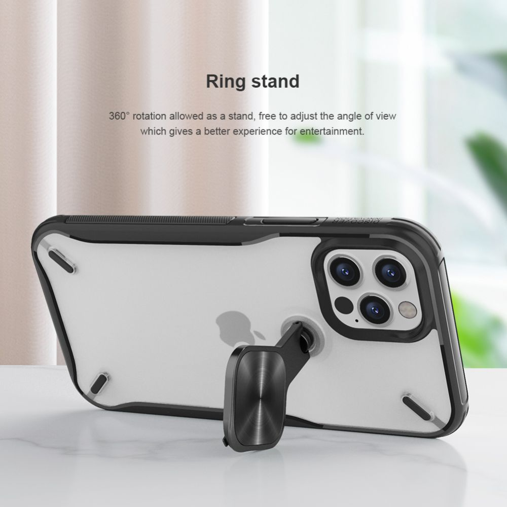 Apple iPhone 12 Pro Max vāciņš zils Nillkin Cyclops