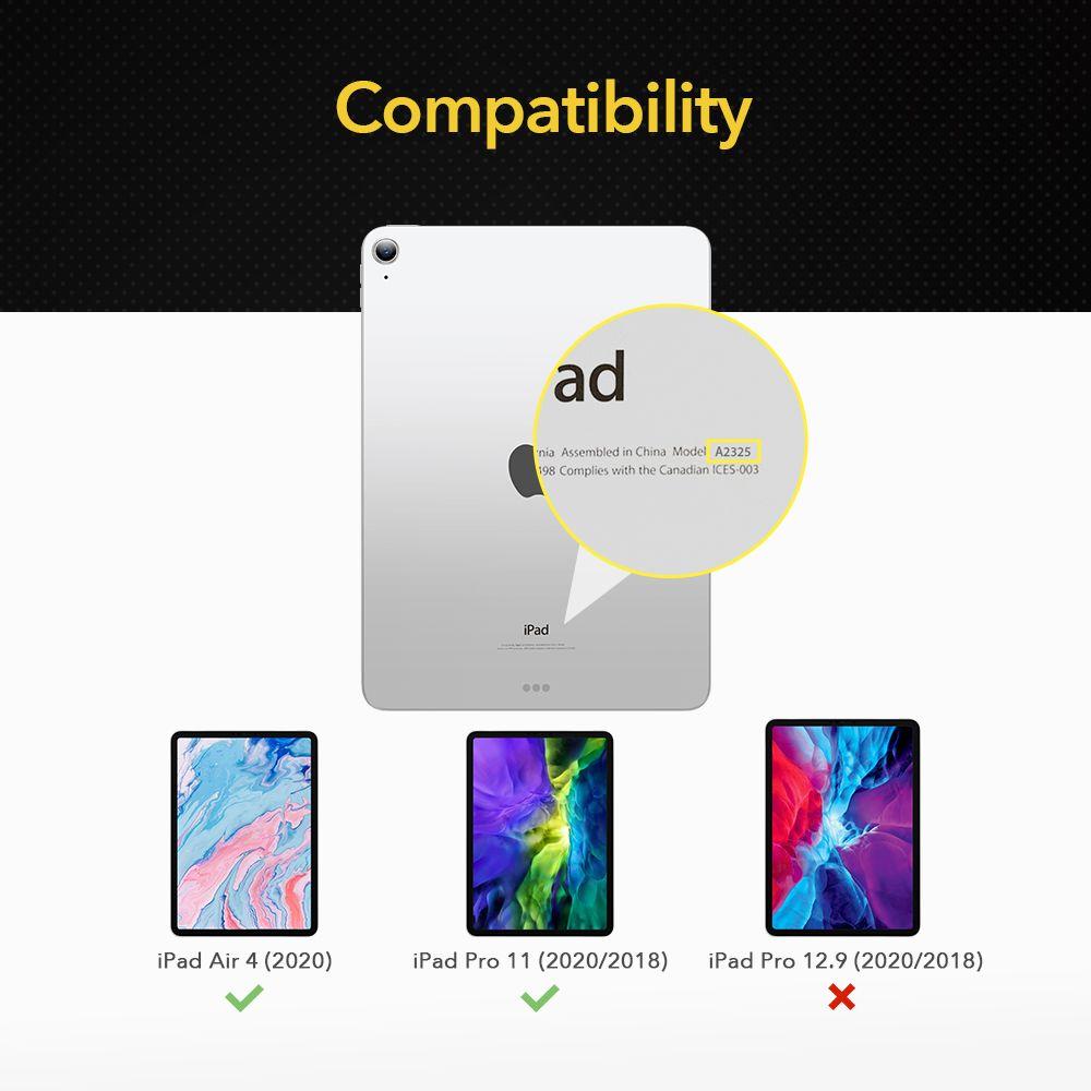 Apple iPad Air 4 (2020) aizsargstikls  ESR Paper Feel Matte